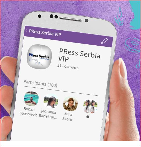 PRess Serbia VIP