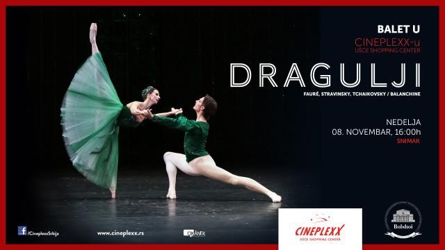 Balet koreografa Žorža Balanšina na velikom bioskopskom platnu