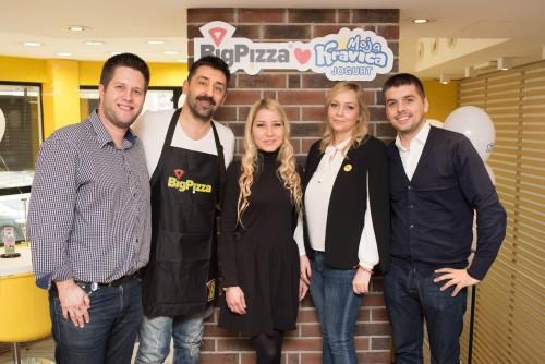 Složili su se najbolji ukusi - BigPizza i jogurt Moja Kravica