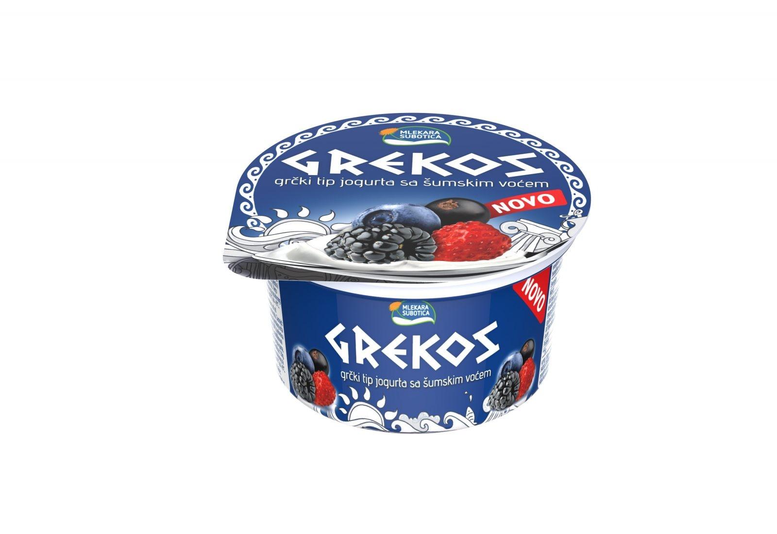 grekos jogurti, novi ukusi,visnja i sumsko voce,press srbija