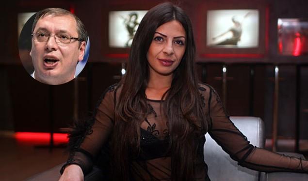 Pevačica Tijana Radivojević dala podršku Vučiću