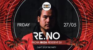 DJ. RE.NO VEČERAS NA SPLAVU Shake'n'Shake