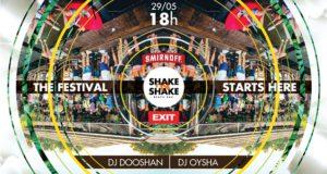 Dooshan, Oysha i Shake'n'Shake vas pozivaju na ludi letnji ples!