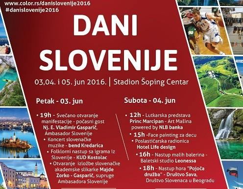 Dani Slovenije u Stadionu