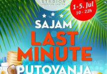 Sajam last minute ponuda od 1. do 5. jula