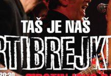 Koncert Partibrejkersa u subotu na Tašmajdanu