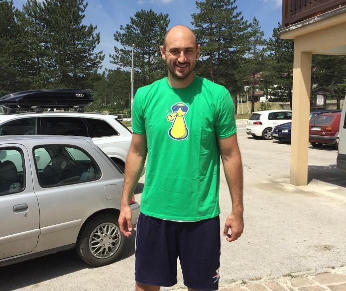 Nenad Krstić bodrio ekipe u finalu Igara bez granica