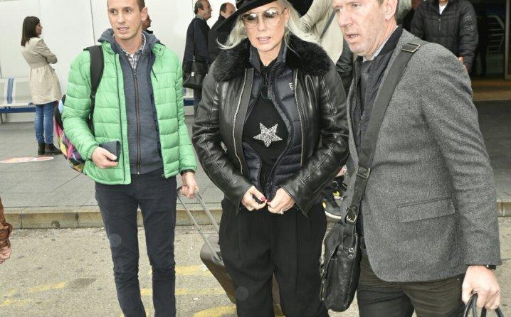 Šaban, Zorica i Brena bežali jedni od drugih na sarajevskom aerodromu! (FOTO)