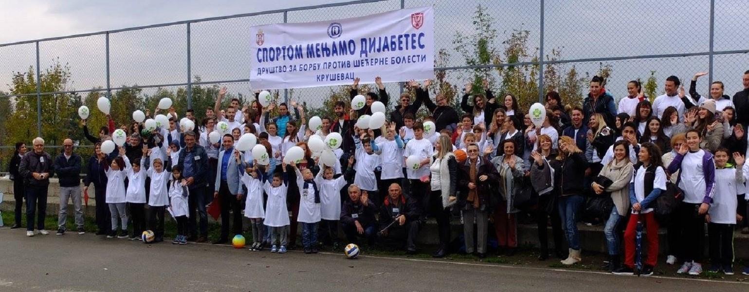"""""""Sportom menjamo dijabetes"""", 150 obolelih učestvovalo u sportsko-edukativnoj manifestaciji"""