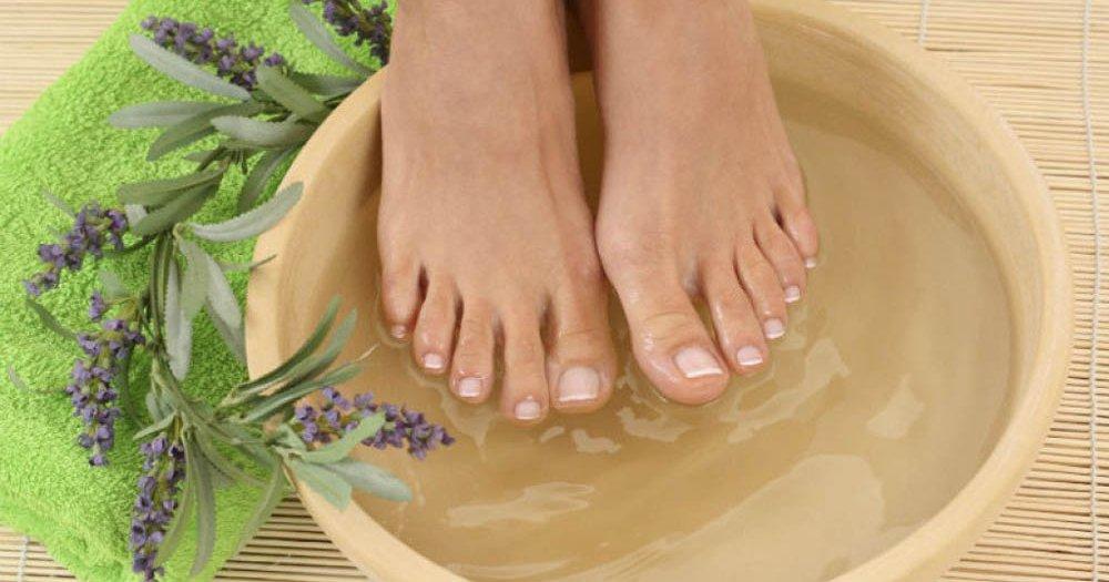 Savršena kupka za umorna stopala