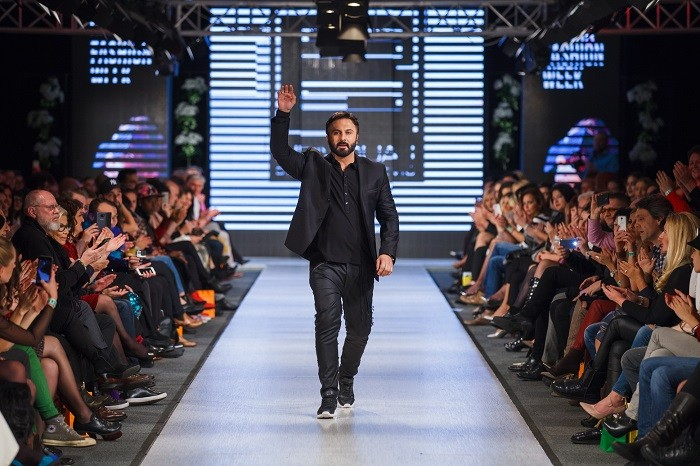 Neprikosnoveni Bata Spasojević na Srbija Fashion week-u!