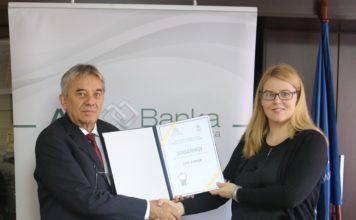 Beogradska poslovna škola dodelila AIK Banci zahvalnicu za uspešnu saradnju