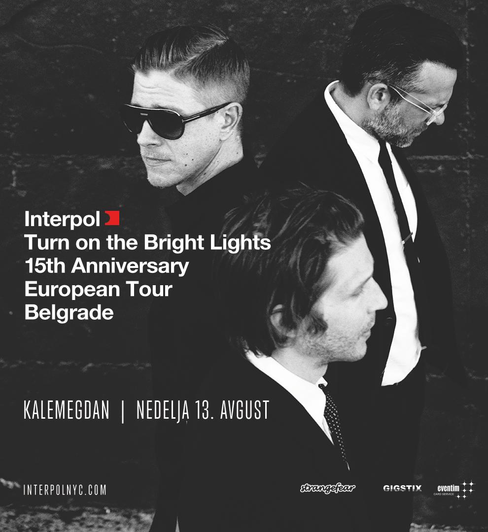 Rasprodat prvi kontingent ulaznica za koncert benda Interpol