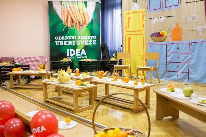 idea, IDEA RADIONICE POSETILE VRTIĆE U ČETIRI BEOGRADSKE OPŠTINE, Gradski Magazin