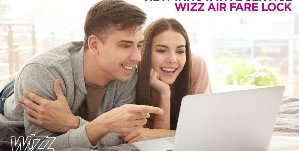"""Wizz Air predstavlja novu inovativnu uslugu""""Fare Lock""""!"""