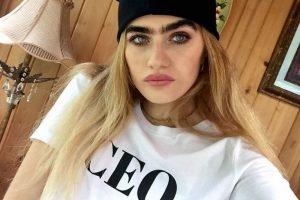 Manekenka Sophia Hadjipanteli odbija da sredi obrve: Svi mogu da žive onako kako žele