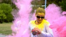 Color RUNNING powered by Tikkurila! Najveselija trka po treći put u Beogradu
