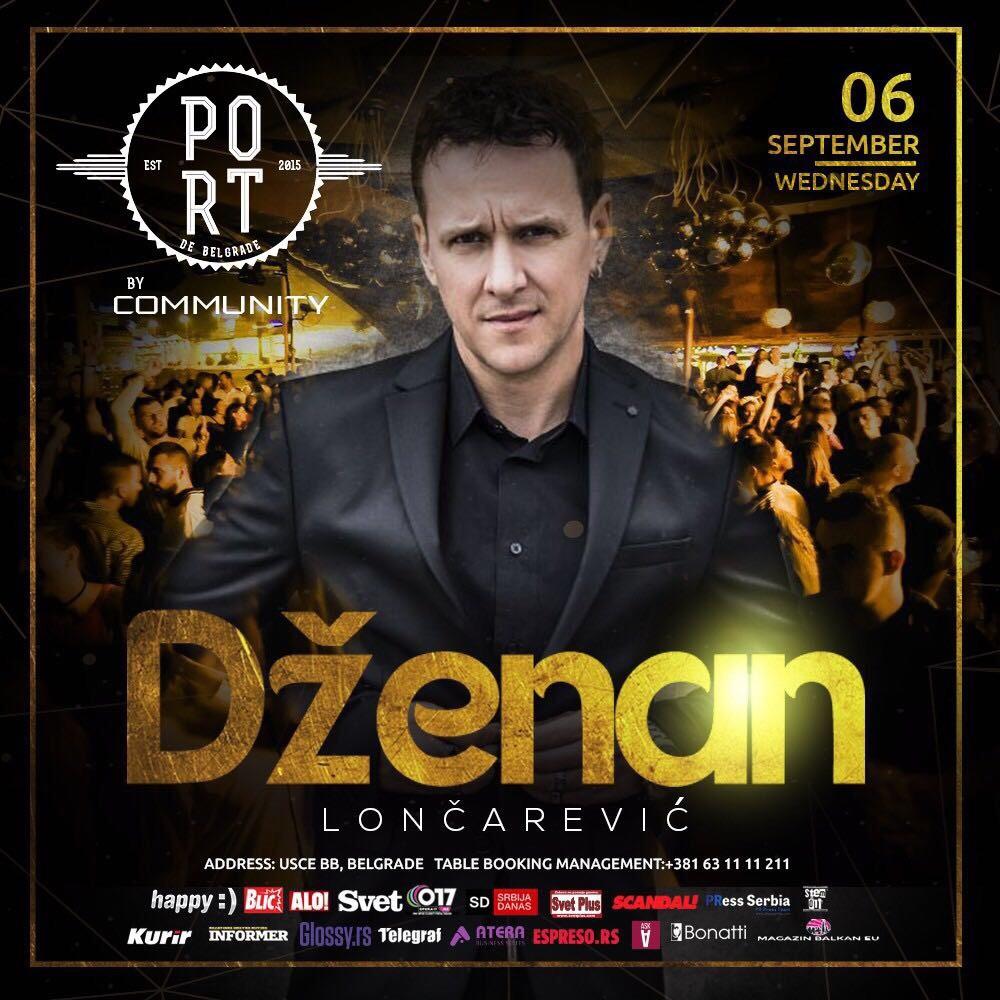 Muzički spektakl i ove nedelje na splavu PORT: Dženan Lončarević i Tropico bend