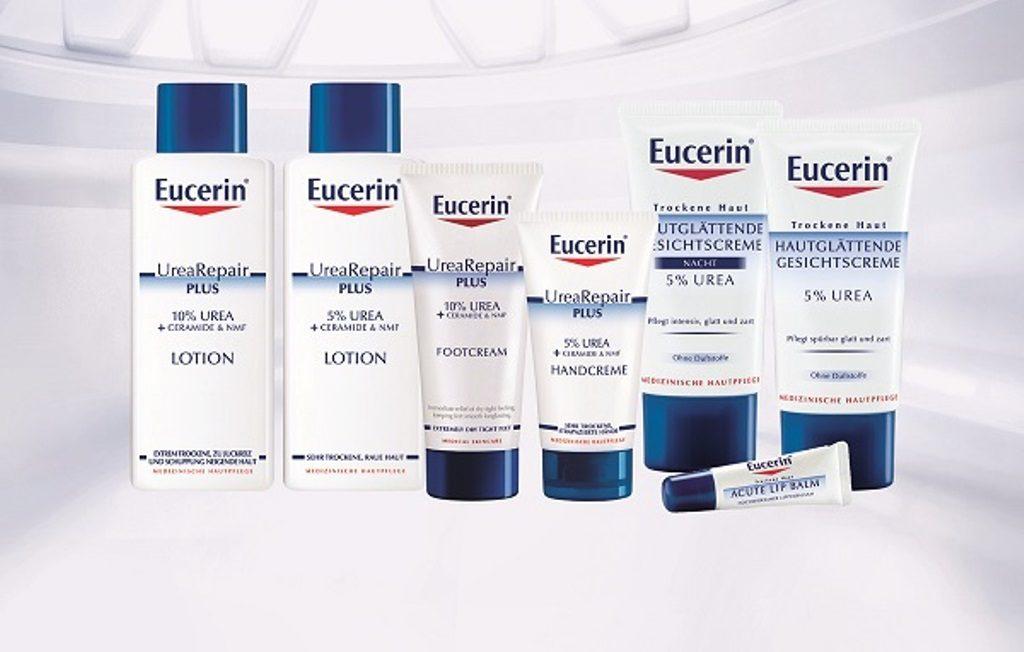 U toku Oktobra – meseca suve kože (1.do 31.oktobra):  Sve Eucerin® preparate specijalno formulisane da zadovolje potrebe suve i atopijski suve kože lica i tela možete nabaviti sa popustom od 10%. Za kupovinu u iznosu od preko 2000 dinara, pored popusta, očekuju vas i atraktivni pokloni  U Eucerin savetovalištima za atopijski dermatitis i borbu protiv dijabetesa, koja će u odabranim apotekama ZU Lilly Drogerie biti aktivna do proleća 2018.godine, dobićete stručne savete specijalno edukovanih farmaceuta o pravilnoj nezi atopijski suve kože i izuzetno suve kože koja je posledica dijabetesa