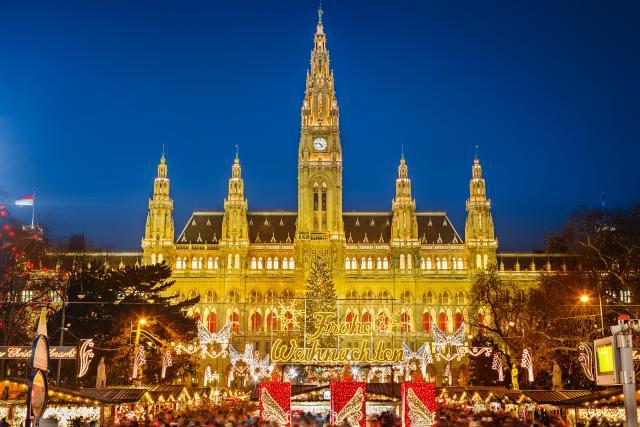 Božićnoj atmosfera u Beču!