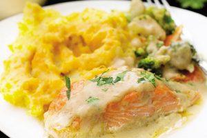 RECEPT DANA: Grilovani losos sa prelivom