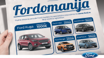 Fordomanija - mesec dana izuzetnih cena za Fordove modele