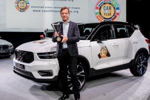Novi Volvo XC40 proglašen za Evropski automobil godine 2018.