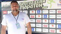 Selektor vaterpolo reprezentacije Srbije gost UNIQA osiguranja na 31. Beogradskom maratonu