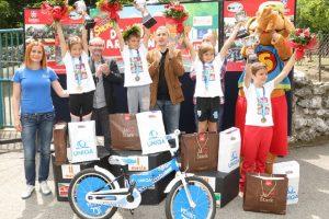 Pobedniku Dečjeg maraton od UNIQA osiguranja na poklon bicikl