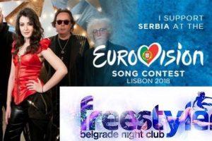 FREESTYLER Night Club EUROVISION Lisabon 2018 LIVE BLOG