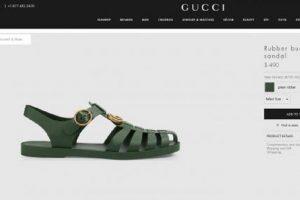 Sandale koje je nosila cela SFRJ, sad su Guči i bezobrazno su skupe!