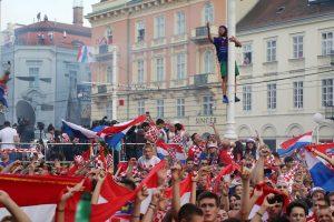 Na Trgu bana Jelačića doček za fudbalere Hrvatske