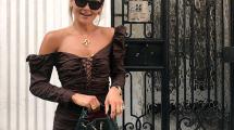 Mala braon haljina je ovih dana popularnija od male crne