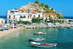Grčko ostrvo sa istorijom, ali danas malo poznato turistima