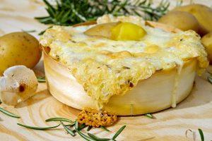Krompir sa četiri vrste sira