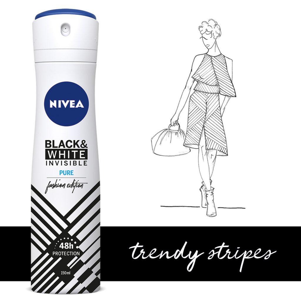 NIVEA noviteti! Nivea Deo black and white-Fashion limited edition! POKAŽITE SVOJ BESPREKORAN STIL!