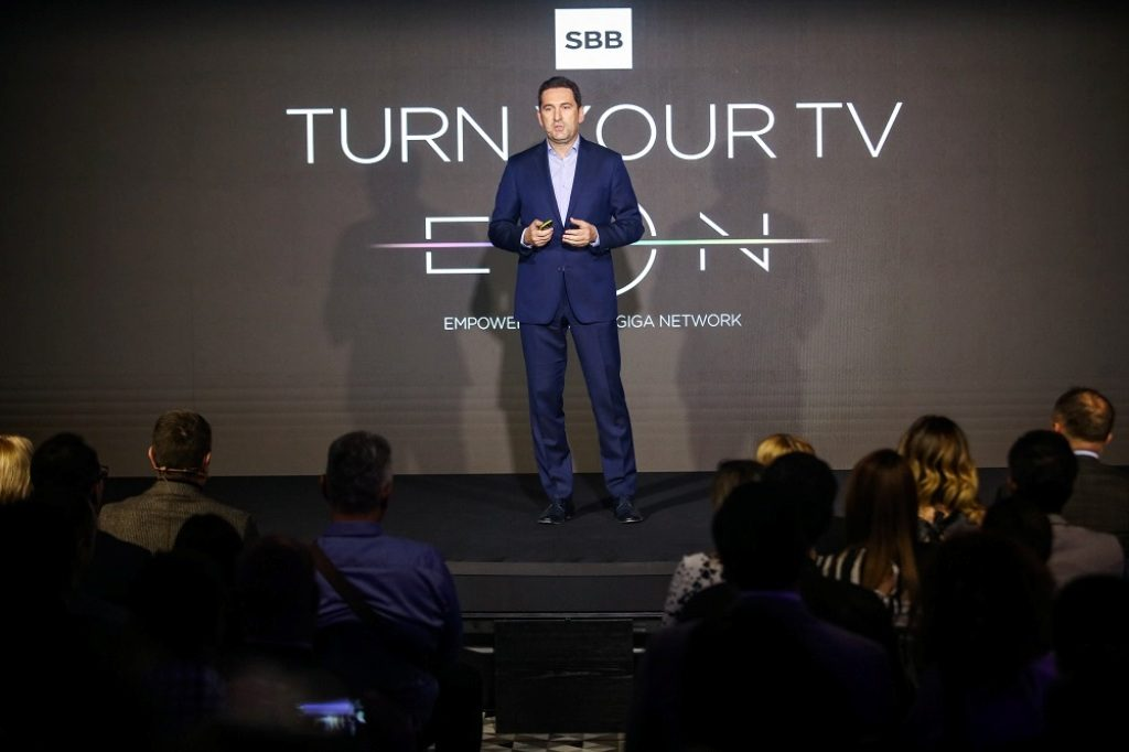 , SBB predstavio EON smart boks – novu eru televizije, Gradski Magazin