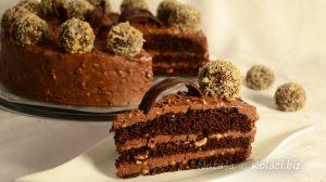 Ferrero Rocher kuglice obožavamo...a tortu?