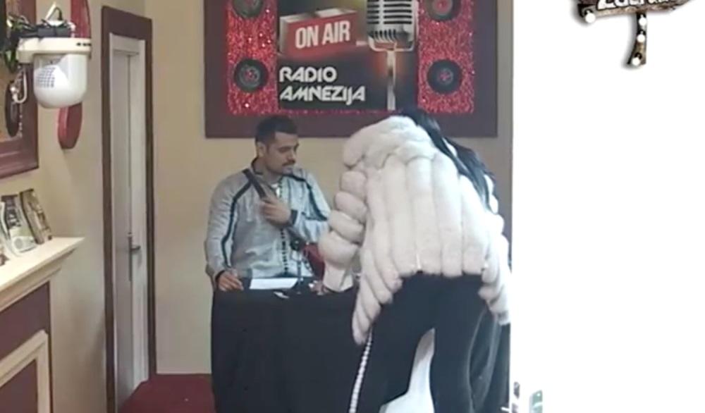 Zerina besna uletela u studio !!! Obezbeđenje odmah ušlo za njom !!!