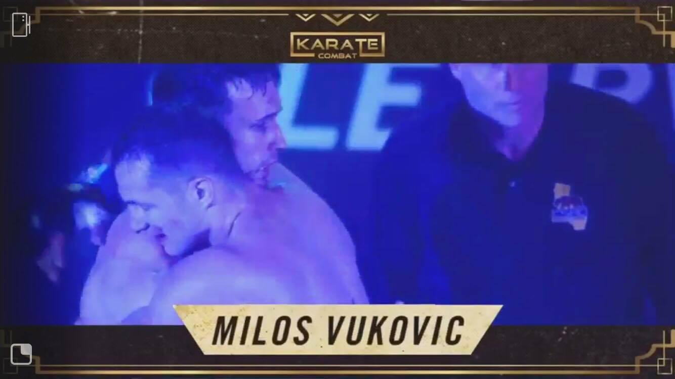 Srpski karatista osvojio Holivud: Miloš Vuković Riki deklarisao Španca!, Gradski Magazin