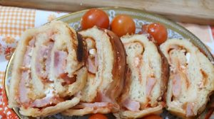 Za prave gurmane iz bakine kuhinje-Pica rolnice sa čvarcima