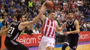 Polufinale play off-a ABA lige: Crvena Zvezda-Partizan