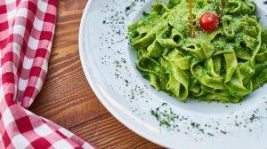Recept dana: Zelene karbonare špagete